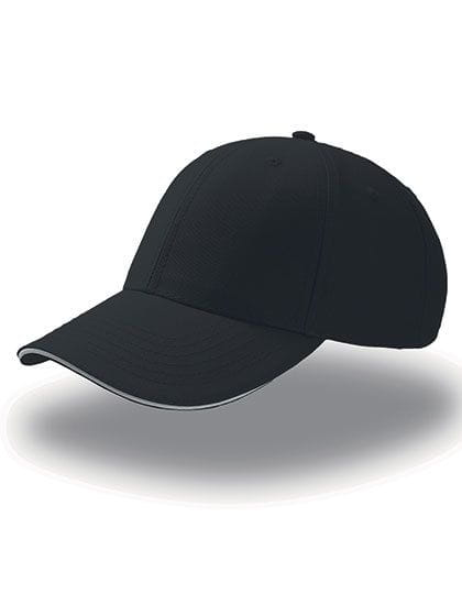 Sport Sandwich Cap Black / White