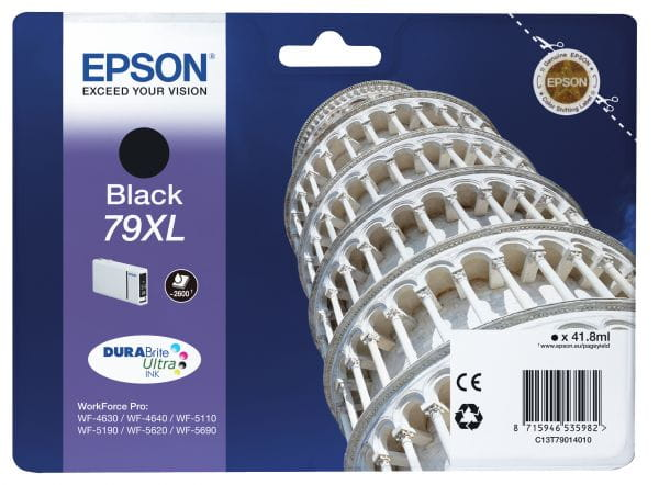 Epson Tintenpatronen C13T79014010 2