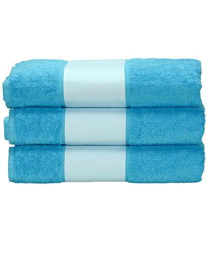 SUBLI-Me® Hand Towel Aqua Blue