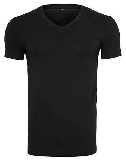 Light T-Shirt V-Neck Black