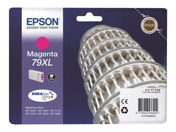 Epson Tintenpatronen C13T79034010 3