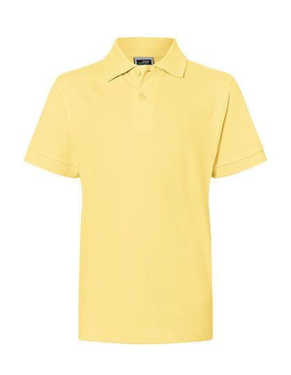 Das Poloshirt für das Kind (klassischer Schnitt) - James & Nicholson
