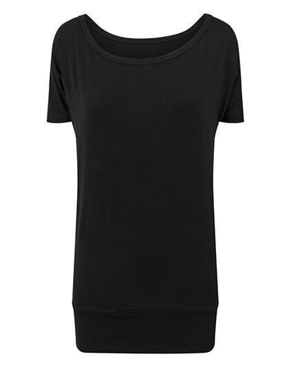 Ladies` Viscose Tee Black