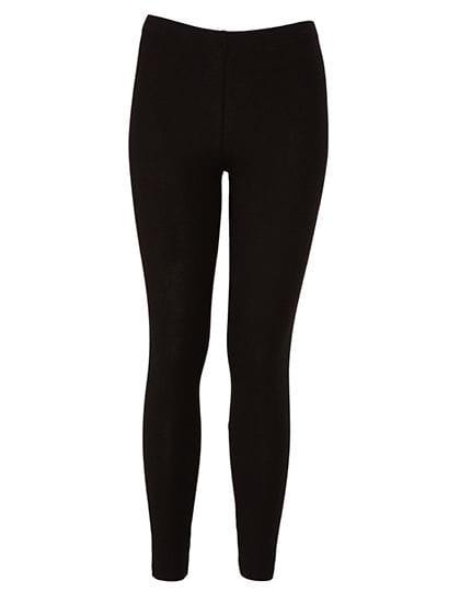 Women`s Cotton Stretch Legging Black